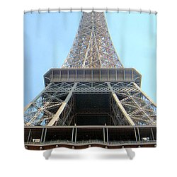 Eiffil Tower Paris France  Shower Curtain