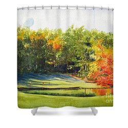 Eighteenth Hole Shower Curtain