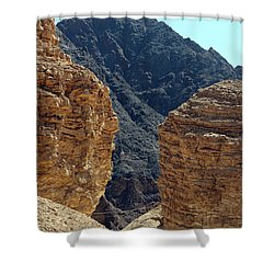 Eilat-israel Shower Curtain by Denise Moore