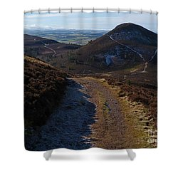 Eildon Hills Shower Curtain