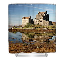 Shower Curtain featuring the photograph Eilean Donan Scotland by Grant Glendinning