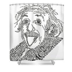 Einsteined. Shower Curtain