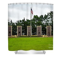 Eisenhower Museum W W I I Memorial Shower Curtain