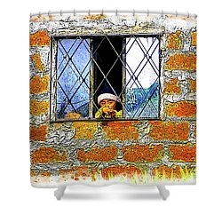 El Altar Kid 872 Shower Curtain
