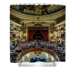 El Ateneo Grand Splendid Shower Curtain