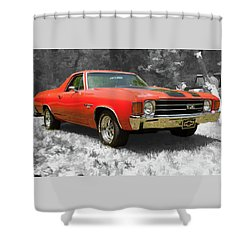 El Camino 1 Shower Curtain