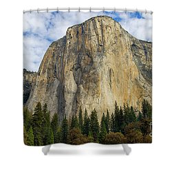 El Cap #2 Shower Curtain