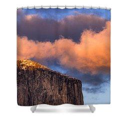 El Cap Glow Shower Curtain