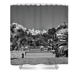 El Capistrano, Nerja Shower Curtain by John Edwards
