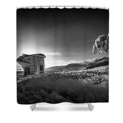 Shower Curtain featuring the photograph El Capitan by Sean Foster