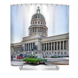 El Capitolio Shower Curtain