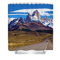 El Chalten 0001 Shower Curtain