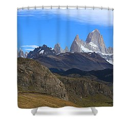 Shower Curtain featuring the photograph El Chalten by Andrei Fried