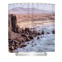 El Cotillo - Fuerteventura Shower Curtain by Joana Kruse