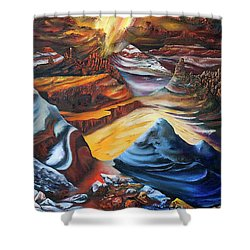 El Dorado Shower Curtain