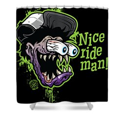 El Freak-o Shower Curtain