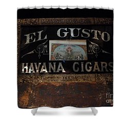 Shower Curtain featuring the photograph El Gusto by Newel Hunter