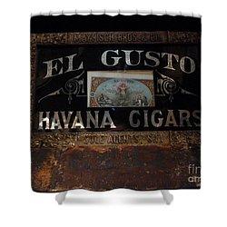 El Gusto Shower Curtain by Newel Hunter