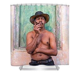 El Hombre Shower Curtain
