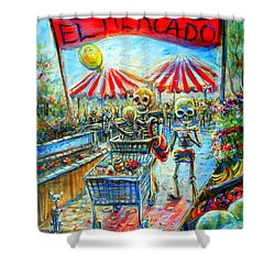 El Mercado Shower Curtain