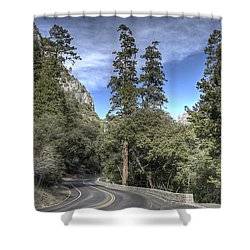 El Portal Shower Curtain