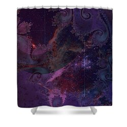 El Sendero Luminoso Shower Curtain
