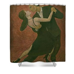 El Tango Shower Curtain by Steve Mitchell