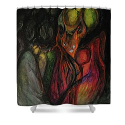 Elder Keepers Shower Curtain by Christophe Ennis