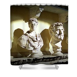 Elder Statesmen Shower Curtain