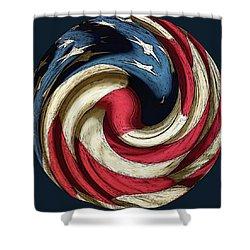 Election 2016 Shower Curtain by Susan Lafleur