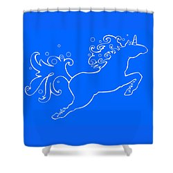 Election Gallery Logo Shower Curtain