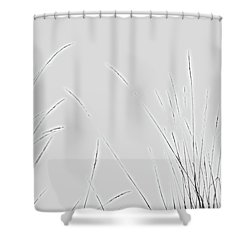 Electric Blades Shower Curtain