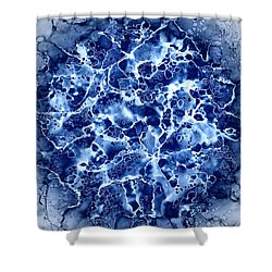 Abstract 1 Shower Curtain by Patricia Lintner