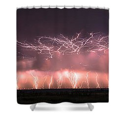 Electric Panoramic Shower Curtain