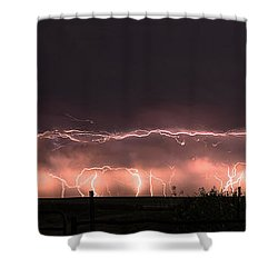 Electric Panoramic IIi Shower Curtain