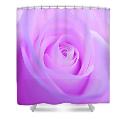 Electric Pink Shower Curtain