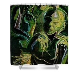 Electricity Shower Curtain