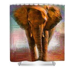 Elephant 1 Shower Curtain