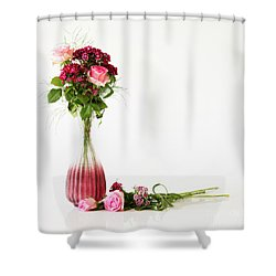 Shower Curtain featuring the photograph Elegance by Wendy Wilton