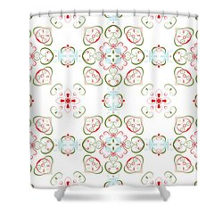 Elegant Christmas #02 Shower Curtain