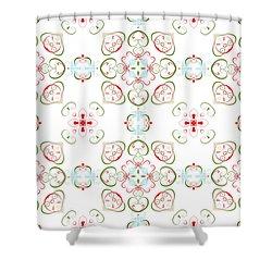 Elegant Christmas #02 Shower Curtain