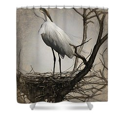 Elegant Mother Shower Curtain