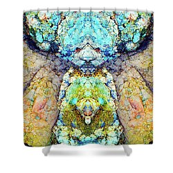 Elemental Being In Nature 1 Shower Curtain