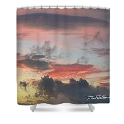 Elemental Designs Shower Curtain