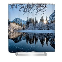 Granite Sunrise Shower Curtain