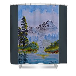 Elements Of Nature 2 Shower Curtain
