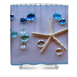 Elements Of The Sea Shower Curtain