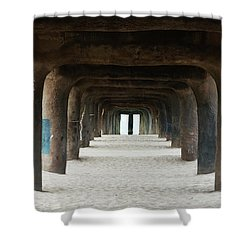 Elephant Legs Shower Curtain