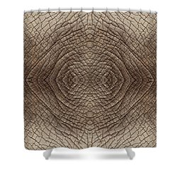 Elephant Skin Shower Curtain
