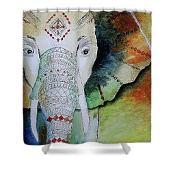 Elephantastic Shower Curtain